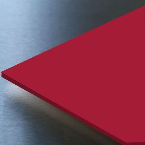 Hygienic Wall Cladding Gloss Ruby Red 10ft x 4ft